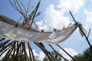 How To Make This Awesome Diy Teepee In Your Yard At 0